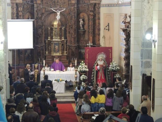 Bendición de la Virgen de la Salud y Esperanza de Segovia